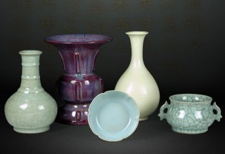 China's first collection of five famous kilns